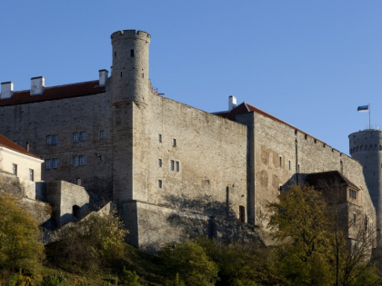 Pilsticker Tower, West wing of Toompea Castle and Tall Hermann Tower. Photo: Paul Kuimet