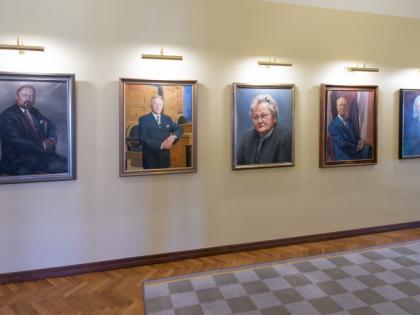 Riigikogu esimeeste portreemaalid, 2015 Foto: Erik Peinar