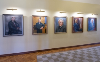 Portraits of Presidents of the Riigikogu, 2015 Photo: Erik Peinar