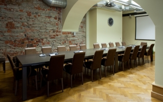 Meeting room in Riigikogu building, 2013 Photo: Paul Kuimet