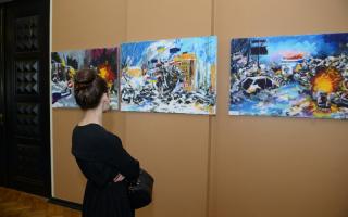 Näitus Riigikogu kunstisaalis