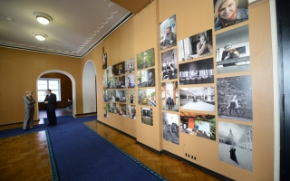 Exhibition in Riigikogu Exhibition Hall
