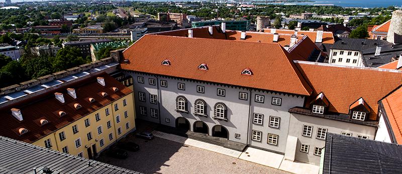 Riigikogu hoone, 2017. Foto Jaan Jänesmae