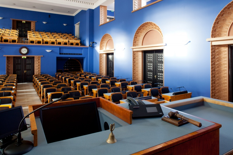 Session Hall Of The Riigikogu Riigikogu