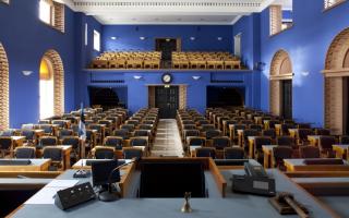Session Hall of the Riigikogu, 2013 Photo: Paul Kuimet