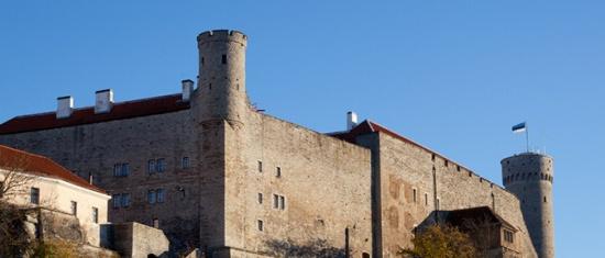 Pilstickeri torn, Toompea lossi läänemüür ja Pikk Hermann, 2013 Foto: Paul Kuimet