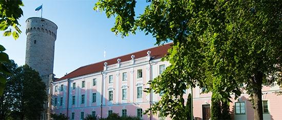 Toompea lossi lõunatiib, sügis 2015 Foto: Erik Peinar