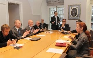 XII Riigikogu, kultuurikomisjoni istung Foto: Erik Peinar