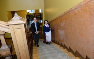 The guides of the Riigikogu showed the way to the new members of the Riigikogu