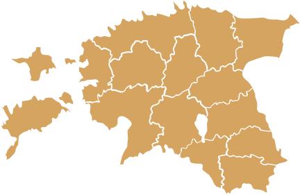 Kарта Эстонии