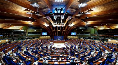 PACE Plenary Session in Strasbourg