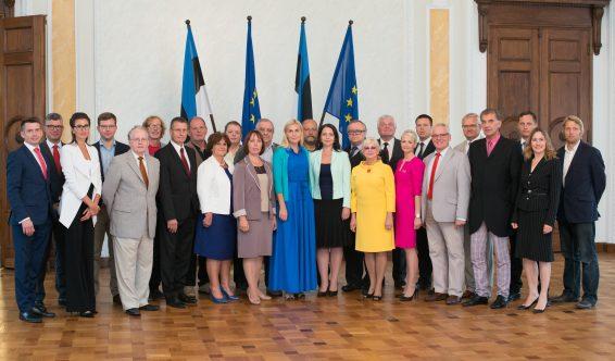 Eesti Keskerakonna fraktsioon, september 2016