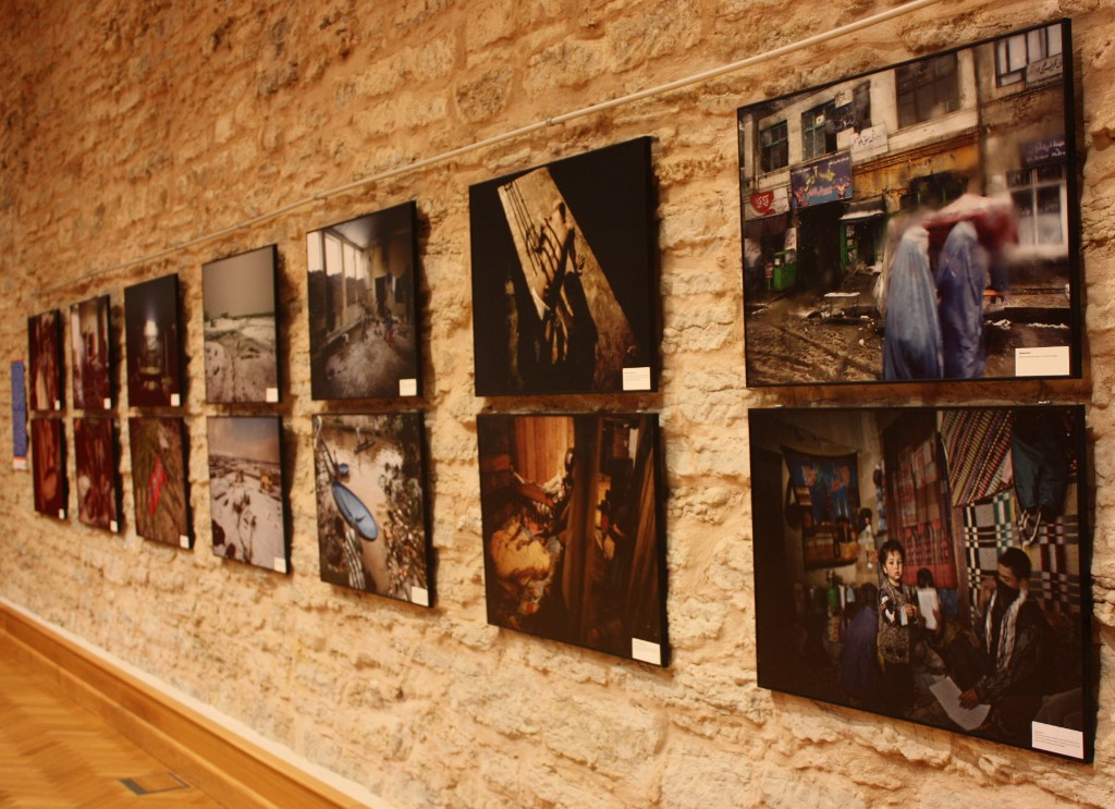"Foto exhibition ""Transit"" of Espen Rasmussen in Conference Hall"