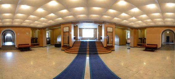 Riigikogu hoone fuajee panoraampilt