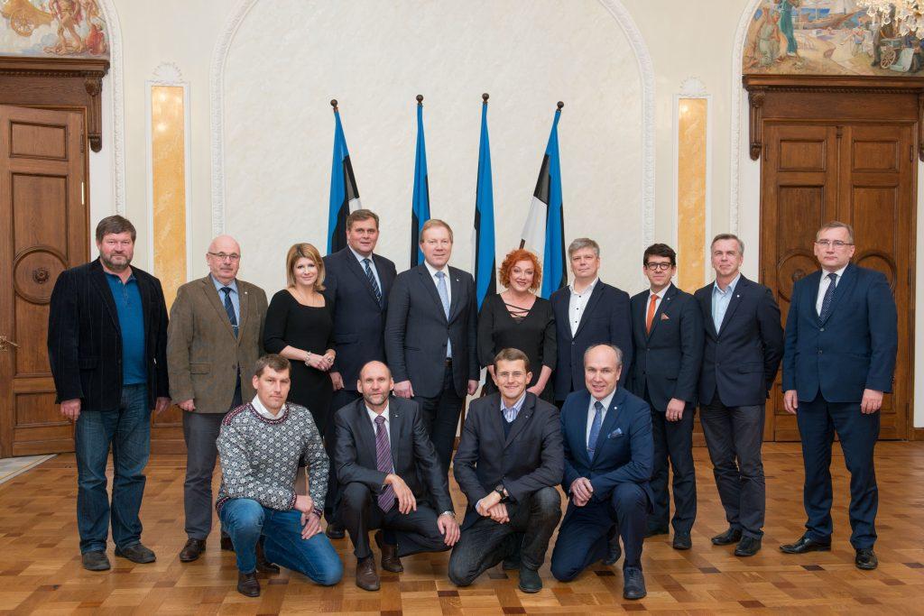 Isamaa ja Res Publica Liidu fraktsioon, November 2015