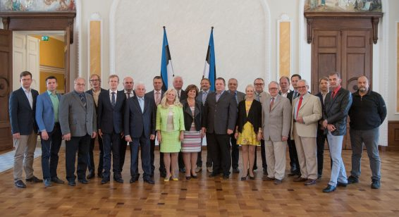 Eesti Keskerakonna fraktsioon, juuni 2017