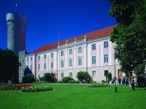 Toompea lossi lõunatiib ja Kuberneri aed