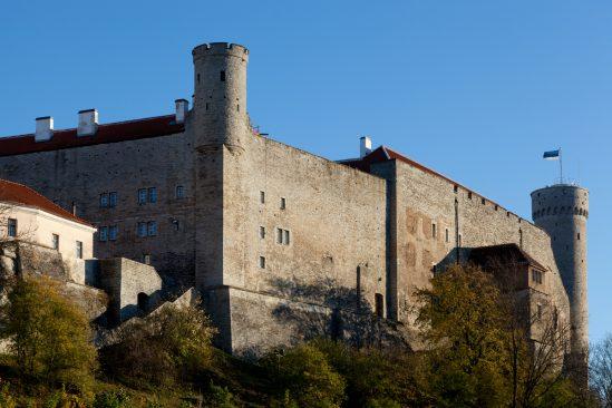 Pilstickeri torn, Toompea lossi läänetiib ja Pikk Hermann Foto: Paul Kuimet