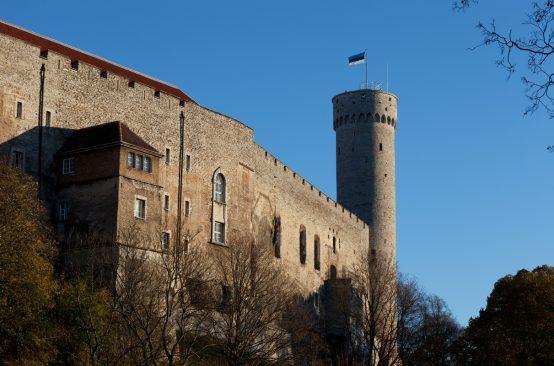 Toompea lossi läänetiib ja Pikk Hermann Foto: Paul Kuimet