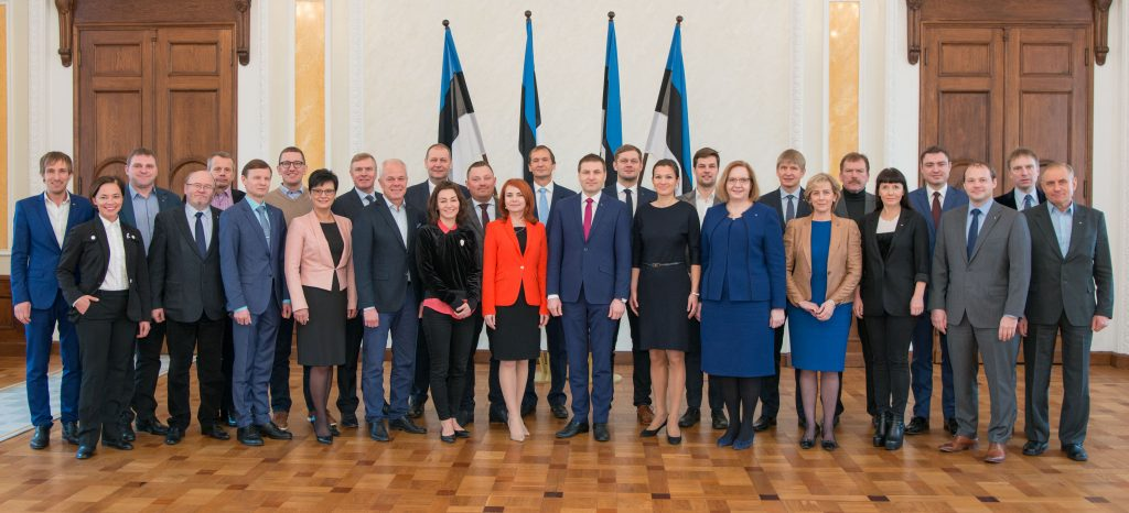 Estonian Reform Party Faction 2017