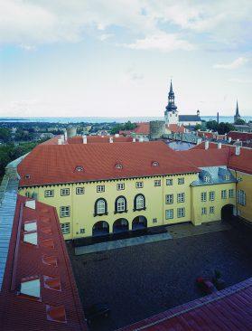 Riigikogu ja Toompea loss 2005
