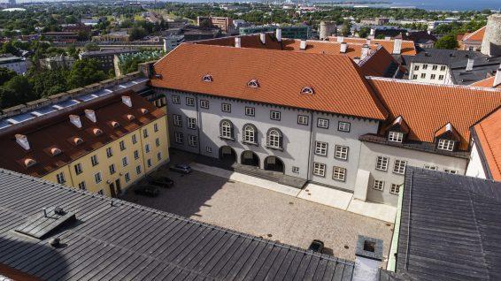 Riigikogu hoone, 2017. Foto Jaan Jänesmäe