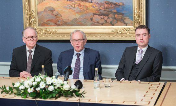 Riigikogu juhatus 5. detsembril 2016