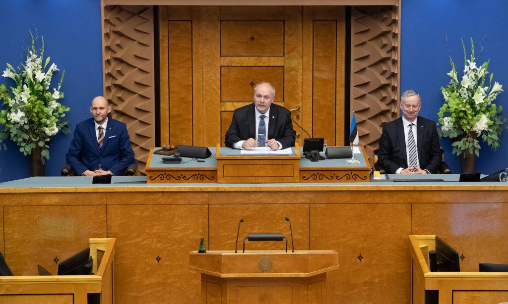 Riigikogu juhatus 4. aprillil 2019