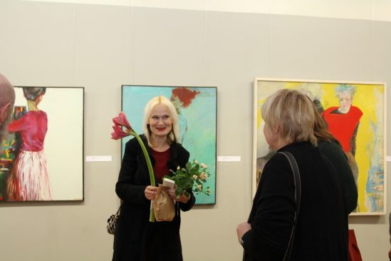 "Tiina Tammetalu maalide näitus ""Portreed"", 2012"