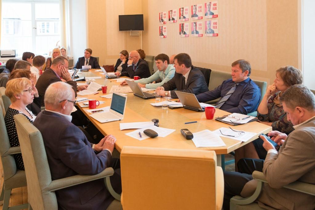 Sotsiaaldemokraatliku erakonna fraktsiooni koosolek