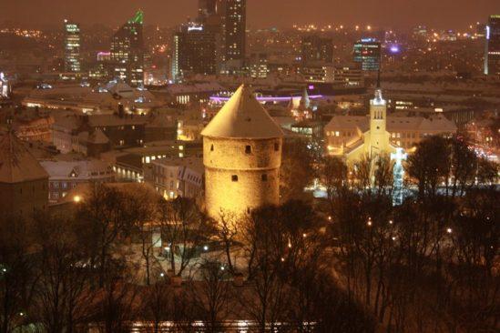 Vaade vanalinnale Pika Hermanni tornist