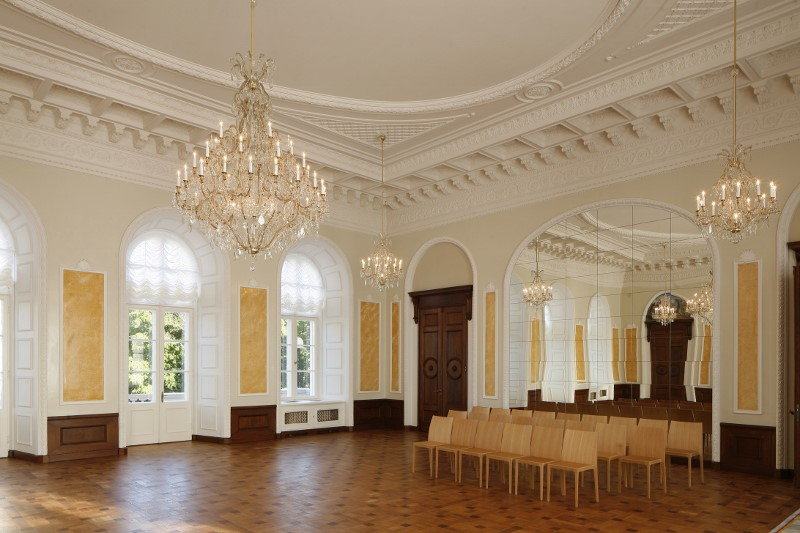 Белый зал. Фото Мартин Сиплане, 2013