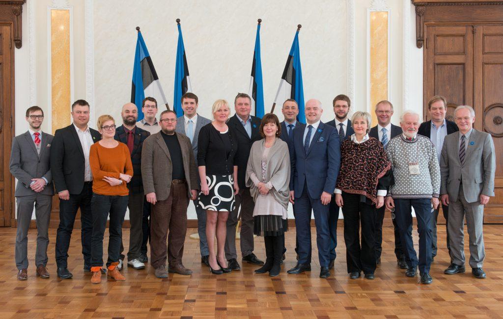Riigikogu Sotsiaaldemokraatliku Erakonna fraktsioon 13. aprillil 2015