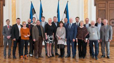 Sotsiaaldemokraatliku erakonna fraktsiooni ühispilt 13.04.2014
