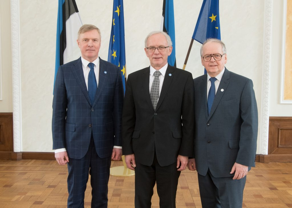 Eiki Nestor, Enn Eesmaa and Kalle Laanet are on the Board of the Riigikogu