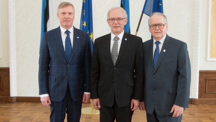 Riigikogu juhatus 22. märtsil 2018