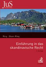 Raamatu esikaas - Einfuhrung in das Skandinavische recht