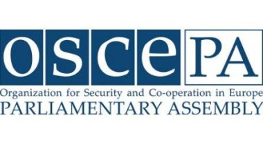 Logo of Organisation for Security and Co-operation in Europe Parliamentary Assembly