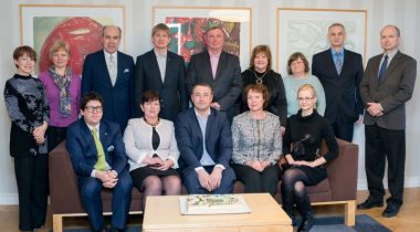 Maaelukomisjoni ühispilt koos ametnikega, XII Riigikogu