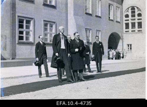 27.-28. juunil 1929 külastas Rootsi kuningas Gustav V oma Eesti-visiidil ka Riigikogu. Rahvusarhiiv