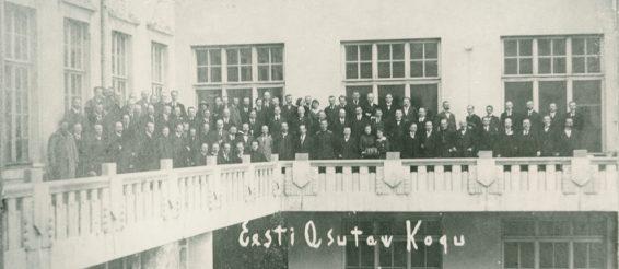 Eesti Asutav Kogu, 1919-1020. Allikas: Eesti Rahvusarhiiv 4996.1.265.89