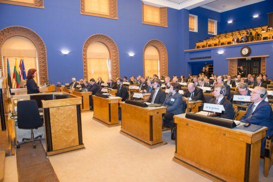 Balti Assamblee 33. istungjärgu avamine, Tallinn 2014