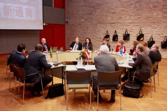 Balti ja Põhjamaade (NB8) parlamentide väliskomisjonide esimeeste kohtumine, aprill 2012