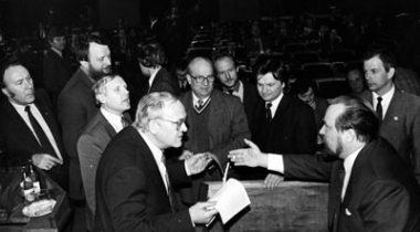 Eesti Vabariigi Ülemnõukogu 1992. a. kevadel. Riigikogu arhiiv