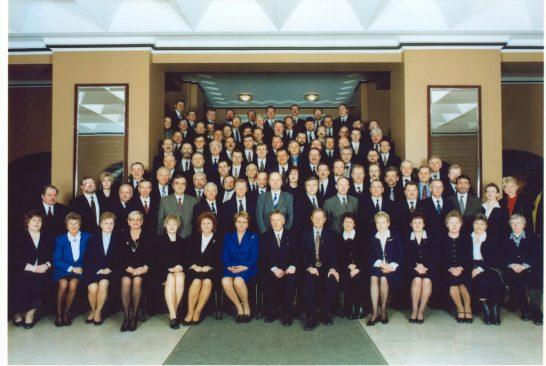 IX Riigikogu koosseisu lõpupilt 20. veebruar 2003