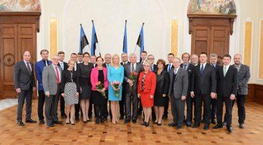 Фракция Центристской партии Эстонии, 30.03.2015