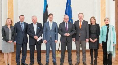 Kohtumine Euroopa Komisjoni asepresidendi Frans Timmermansiga