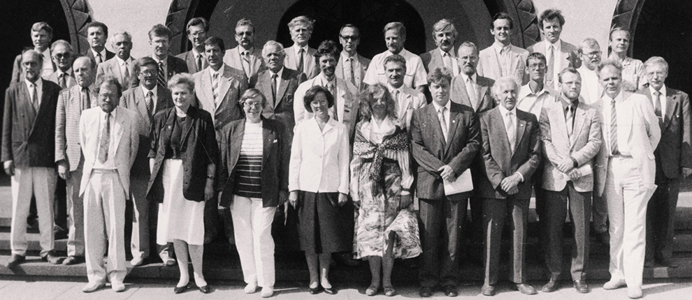Constitutional Assembly in July 1992. Author Tiit Veermäe. Photo in the Estonian Film Archives.
