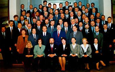 Riigikogu VII koosseis viimasel, pidulikul istungil 7. märtsil 1995