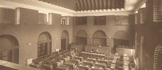 Riigikogu istungisaal 20ndatel aastatel